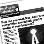 How can you work less, beat your competition and unlock greater profits in your business?