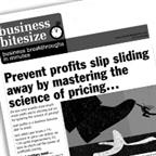Prevent profits slip sliding away by mastering the art and science of pricing.