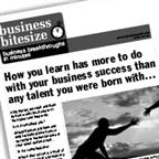 How you learn has more to do with your business success than any talent you were born with...