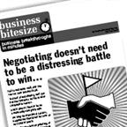 Negotiating should not be an emotionally charged battle to win…