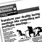Transform your deathly boring meetings into compelling and profitable meetings...