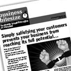 Simply satisfying your customers prevents your business from reaching it's full potential…