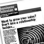Want to grow your sales? Don't hire a relationship builder...