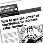 How to use the power of storytelling to increase sales revenue...