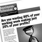 Are you wasting 80% of your working week making just 20% of your profits?